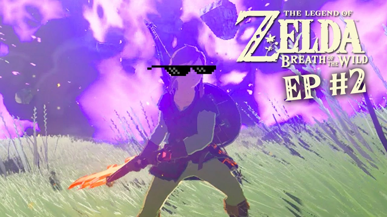 Pro Mlg Rock Smashing Skillz The Legend Of Zelda Breath Of The Wild 2