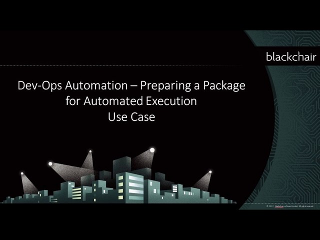 Prepare RM Package for Automated Execution