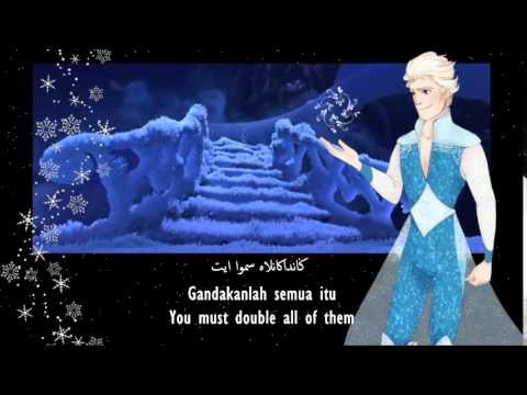 [HQ] Frozen   Let It Go Self Written Lyrics   Ramadan by AMAR (Lyrics and Translation) [S&T]