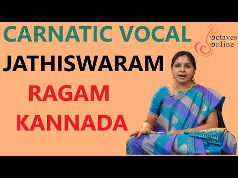 Jathiswaram : Kannada Raag ( Learning Mode )