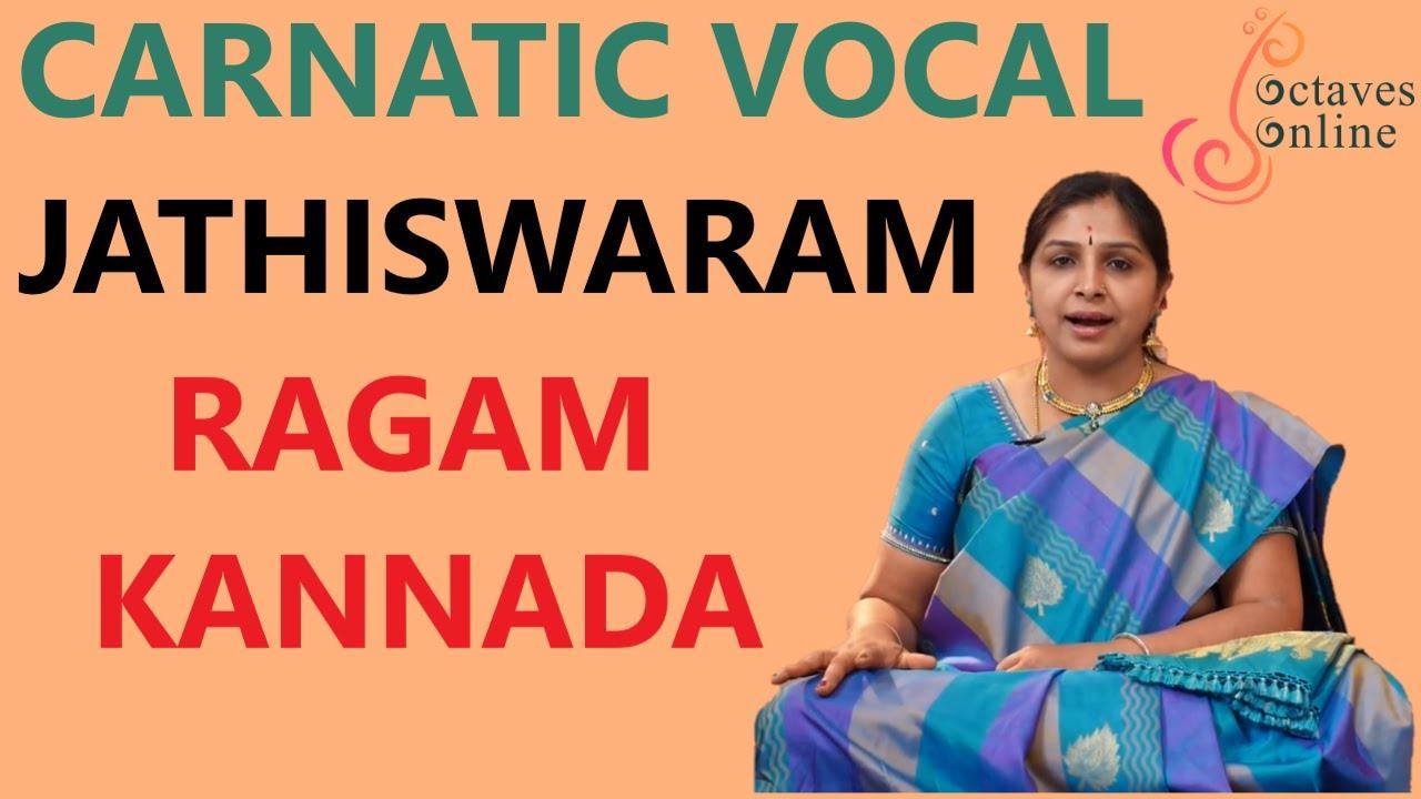Jathiswaram : Janjuti Raag ( Learning Mode )