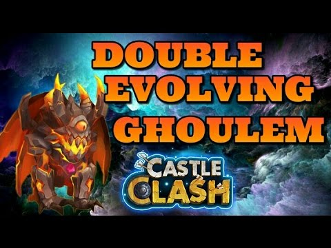 Castle Clash Double Evolving Ghoulem!