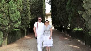 Монтаж фильма об отдыхе в Италии