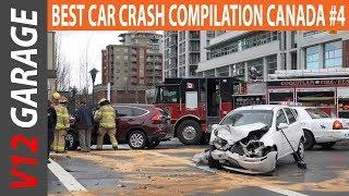 Best Car Crash Compilation Canada From Dashcam | Car Crash Compilation #4