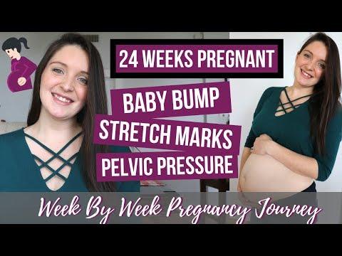 24 WEEKS PREGNANT UPDATE / BELLY SHOT! / 24 WEEKS BUMPDATE