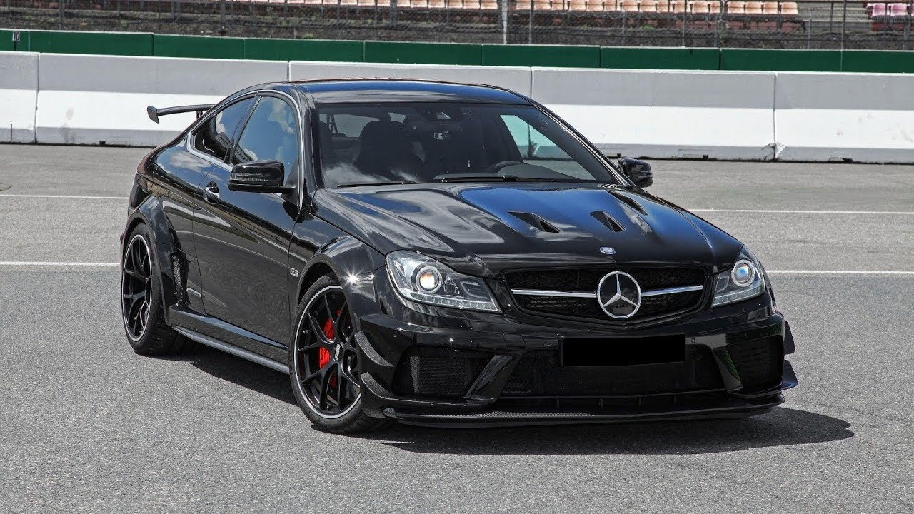 mercedes c63 amg black series conversion is convincing youtube. Black Bedroom Furniture Sets. Home Design Ideas