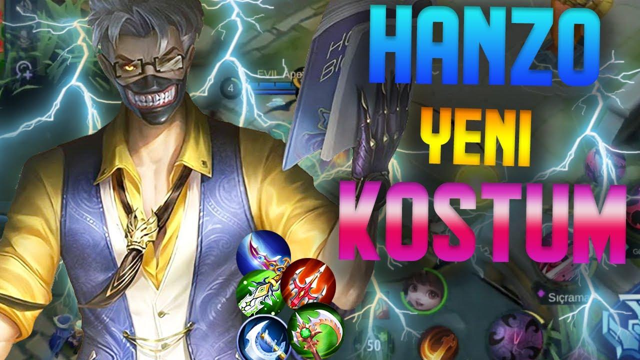 HANZO NEW SKİN SADİST MENTOR - ATLAS HANZO MÜKEMMEL KOMBO - VALİR HANZO Mobile Legends Bang Bang