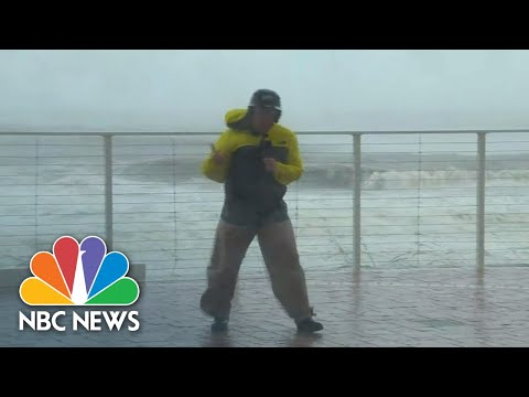 Eye Of Hurricane Michael Nears Panama City Beach | NBC News