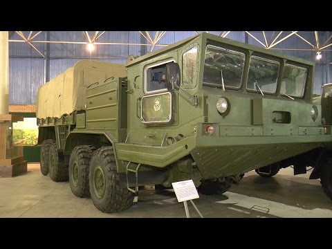 Рязанскому музею военной автотехники 20 лет