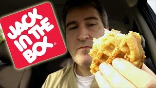 Jack In The Box Waffle Breakfast Sandwich Review
