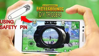 How to Make PUBG Triggers With Safety Pins - DIY
