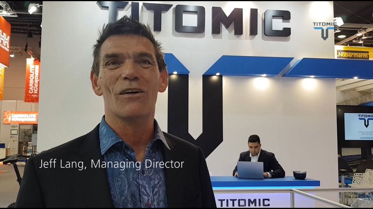 Titomic at Formnext 2018