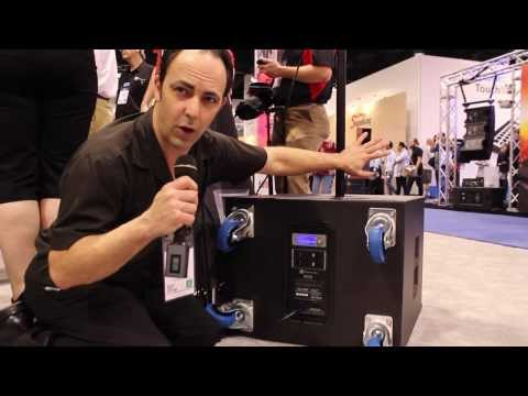 Electro-Voice ETX Powered Speakers NAMM 2014 Demonstration HD