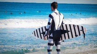 Hamish Jolly: A shark-deterrent wetsuit (and it