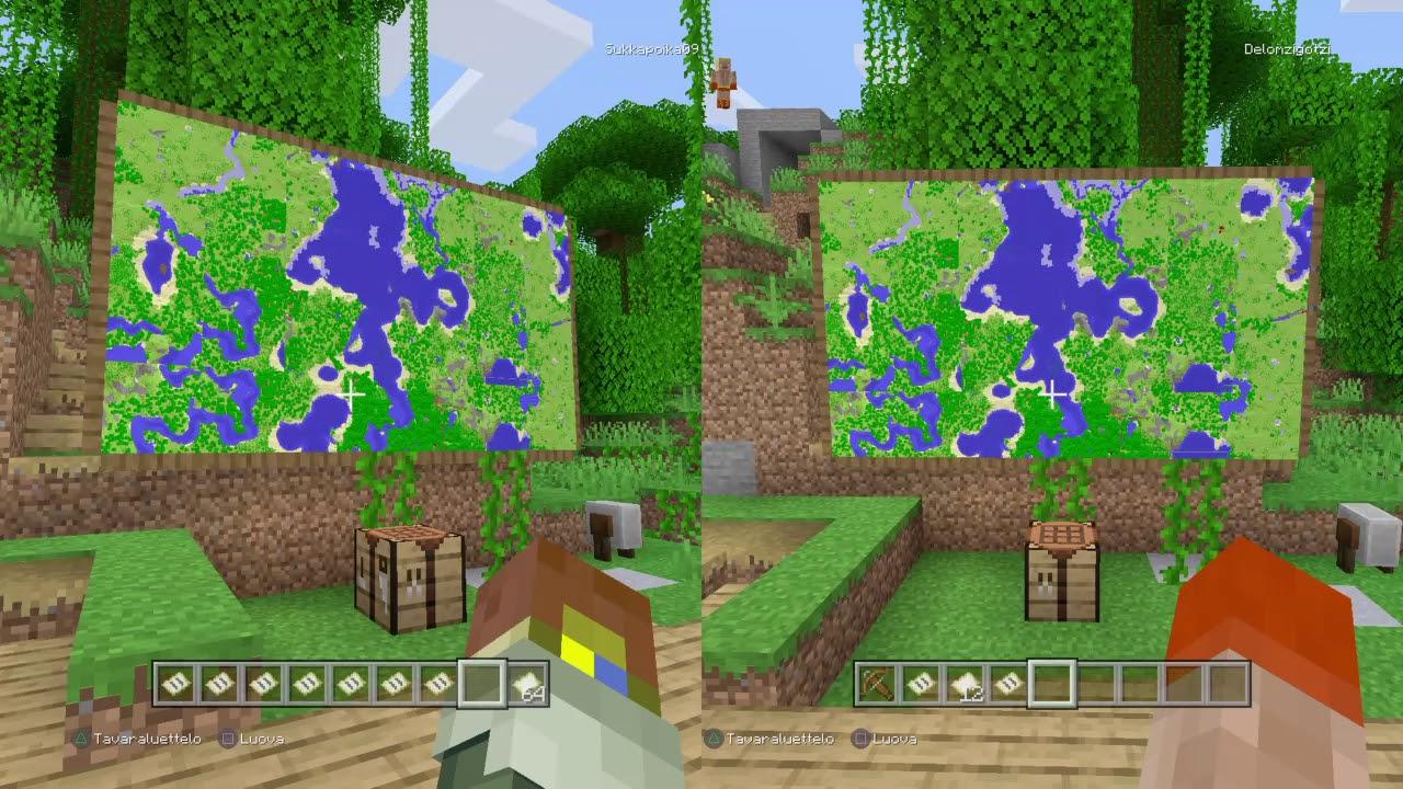 Minecraft Kartta Seina Youtube