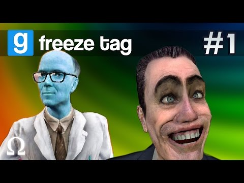 COLD AS ICE, FREEZE SUCKA! | Garry's Mod Freeze Tag #1 Ft Friends