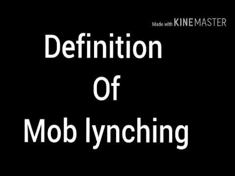 lynching definition - photo #14