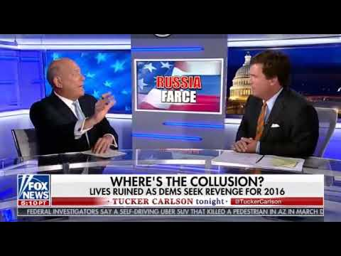 Tucker Carlson Destroy Richard Goodstein - Russia Will Disrupt The Midterms