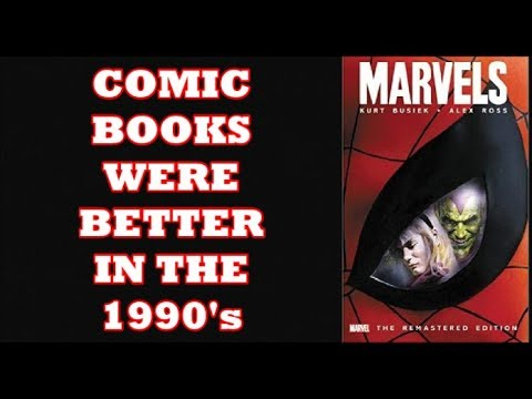 Comic Books Were Better In The 1990's