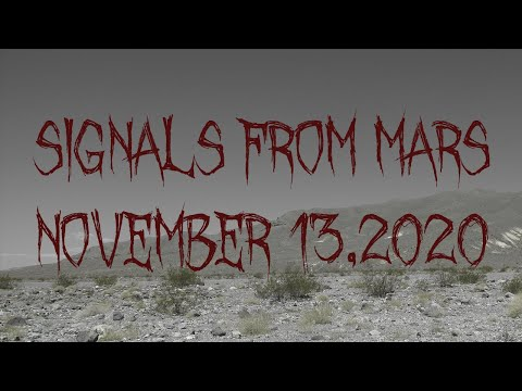 Signals From Mars Presented By Mars Attacks - November 13, 2020