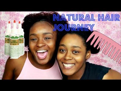 natural hair journey wild