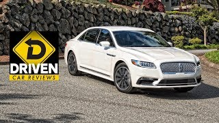2017 Lincoln Continental Car Review