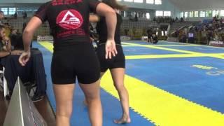 Glaucia Braga x Juliana Costa Brasileiro de Jiu Jitsu Sem Kimono 2015 Final