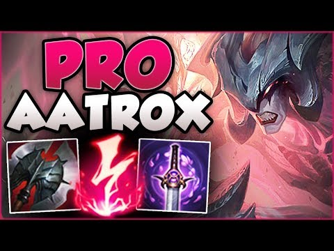 WHY IS THIS AATROX BUILD 100% PERMABANNED AT WORLDS?? AATROX TOP GAMEPLAY! - League of Legends
