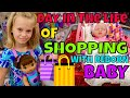 🛍Fun Shopping Trip With Reborn Baby! 🌈Day In The Life! 🛒Shopping @ Target, Ross & TJ Max!! 🎯