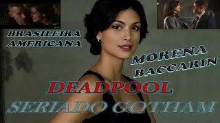 (Morena Baccarin) Brasileira & Americana.