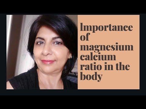 IMPORTANCE OF MAGNESIUM CALCIUM RATIO IN THE BODY