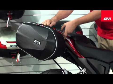 Givi Hybrid Easylock Side Bag System