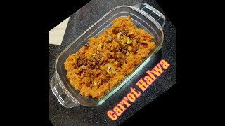 Christmas Special : Carrot Halwa home made, winter special