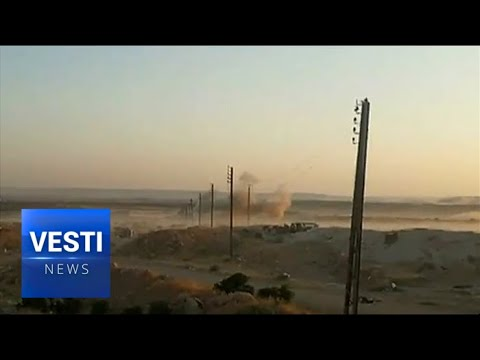 Live From Syria: See How Russian Units Broke Through Encirclement in Idlib