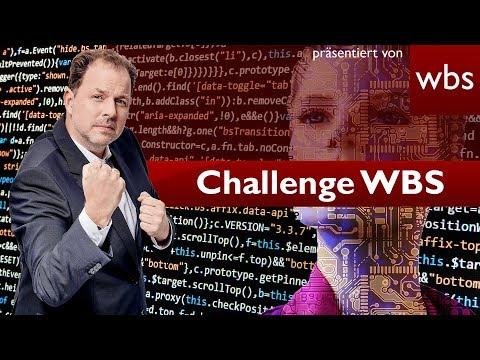 Werden Anwälte in Zukunft durch KI ersetzt? | Challenge WBS Rechtsanwalt Christian Solmecke
