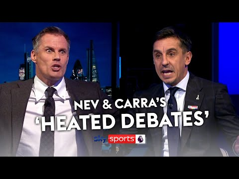Gary Neville & Jamie Carragher's most 'HEATED DEBATES' 😉🍿 - Sky Sports Football
