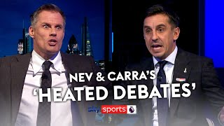 Gary Neville & Jamie Carragher's most 'HEATED DEBATES'