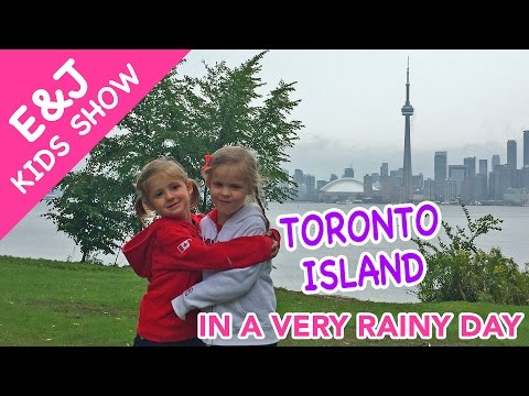 How We Were Visiting Toronto Island In A Very Rainy Day