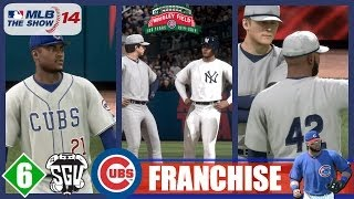 MLB 14: The Show (PS4) Chicago Cubs Franchise - EP6 (vs Yankees)