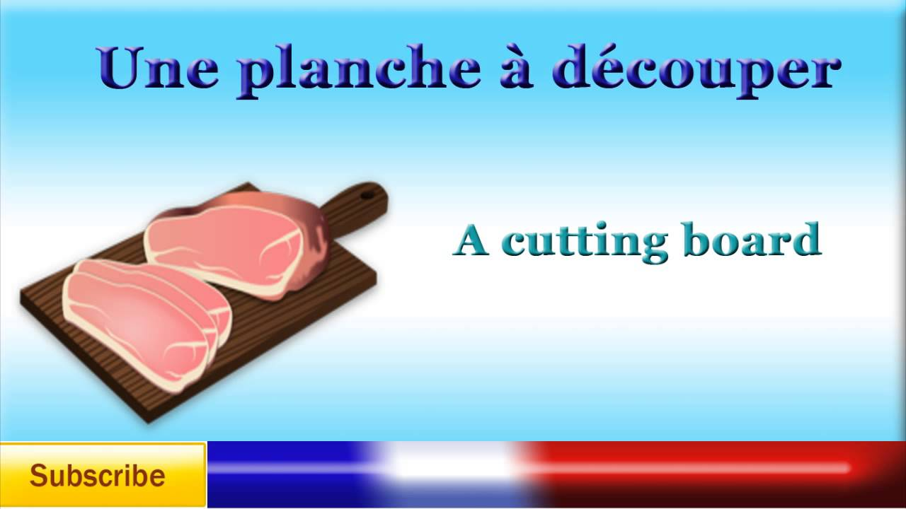 French Lesson 35 - Learn French - Cutlery, Crockery and other ...
