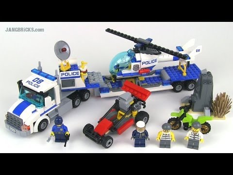 Lego City Helicopter Transport Set 60049 Review Youtube