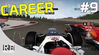 F1 2013 Career Mode Walkthrough - Part 9 - Race 9 Germany [PC Gameplay]