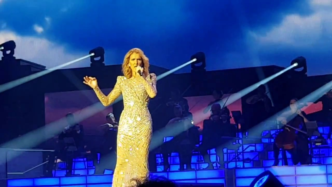 Celine Dion - End of Because You Loved Me, Its All Coming Back To Me Now, Power Of Love.