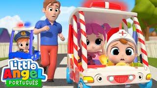 As Rodas da Ambulância do Joãozinho! 🚑   Canal do Joãozinho - Little Angel Português