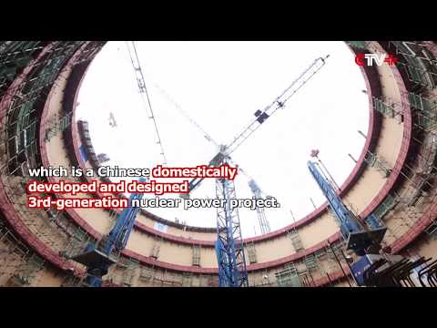 Dome Installation Practice on Nuke Power Unit in China