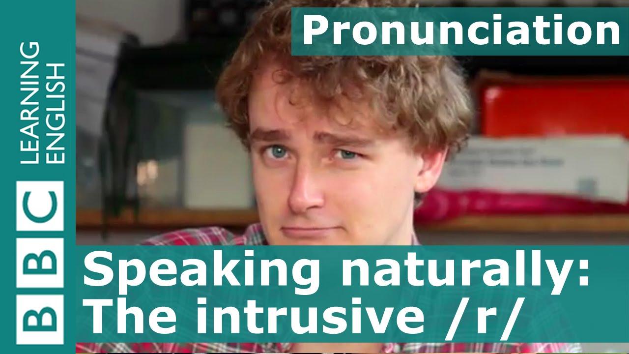 Download Pronunciation: The intrusive /r/