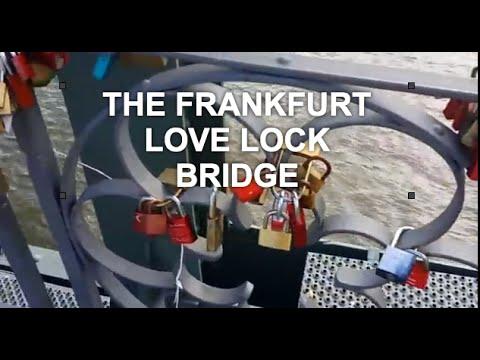 EXCLUSIVE TRAVEL SECRET GERMANY  Frankfurt am Main Love Lock Bridge
