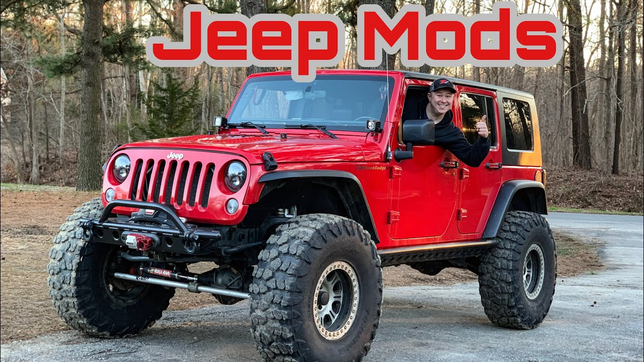 Jeep Jk Mods >> Jeep Wrangler Mods For The Daily Driver
