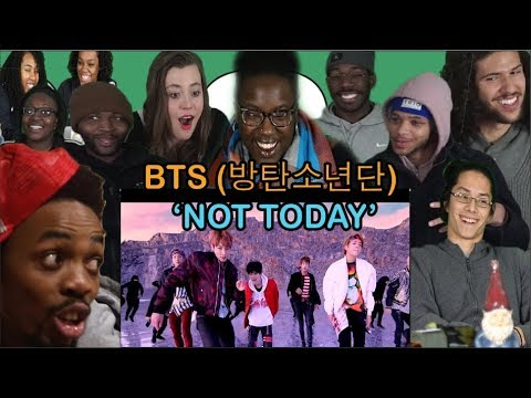 Random College Students React to BTS (방탄소년단) - 'Not Today'