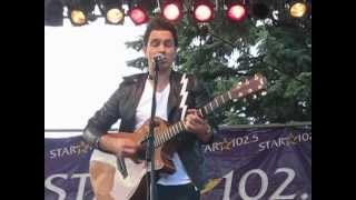 Andy Grammer - Biggest Man in Los Angeles (Buffalo, NY 6/27/2012)